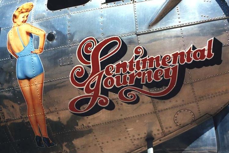 Pin-ups aviones Segunda Guerra Mundial 6