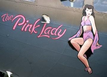 Pin-ups aviones Segunda guerra Mundial 1