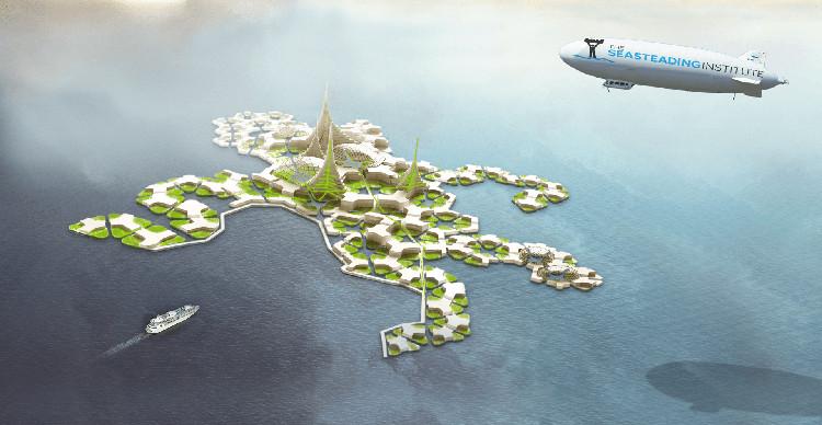 Así serán las ciudades flotantes del futuro