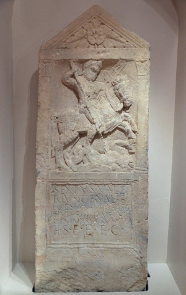 Siete maravillas romanas Corinium museum ingles 2