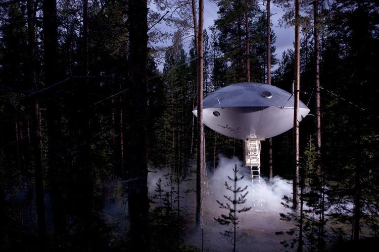 Treehotel, un hotel sueco en lo alto de los árboles