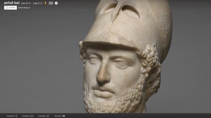 Recorre el Museo Británico online con Google