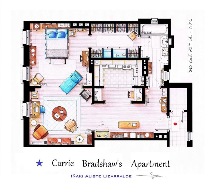 Planos casas cine television 3