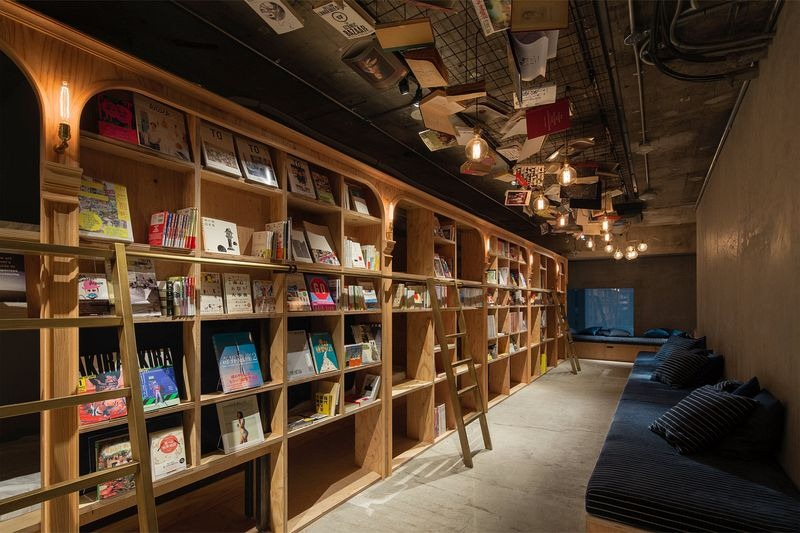 Book And Bed, dormir en una librería en Tokio