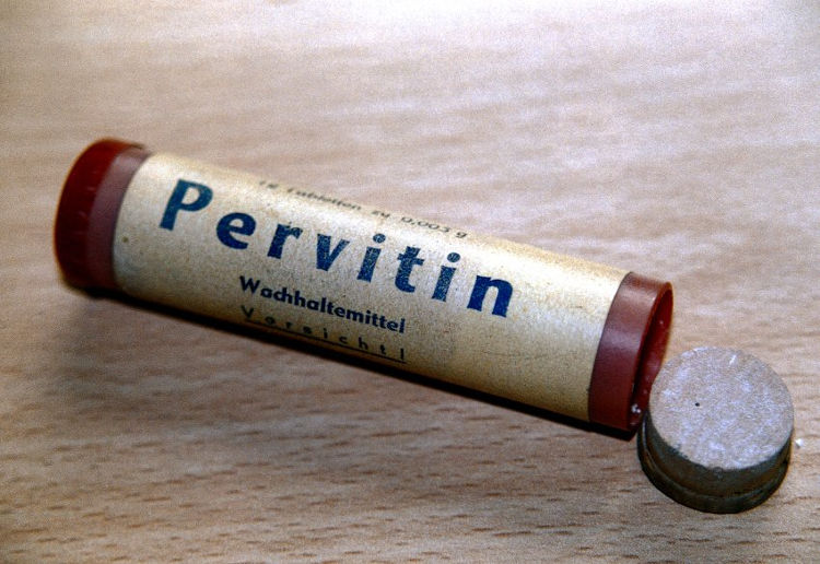 Pervitin metanfetamina soldados durante II Guerra Mundial 2