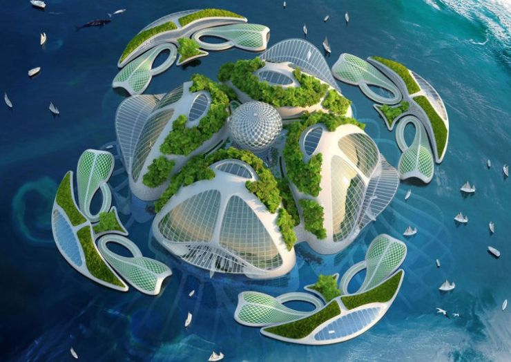 Ciudades flotantes basura sacada mar 1