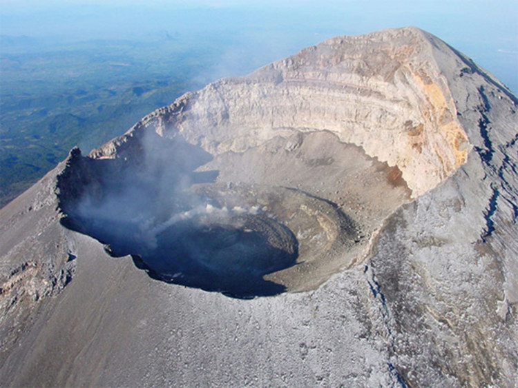 Cuando dos españoles siglo XVI subieron volcan Popocatepetl 1