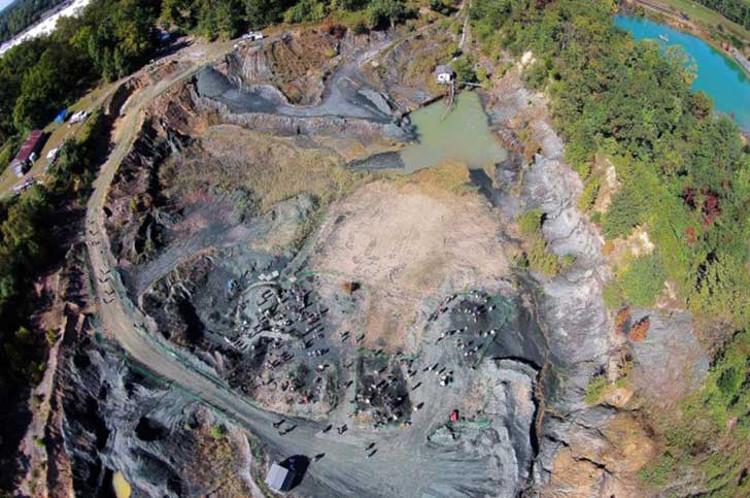 Yacimiento fosiles dinosaurios fallecidos meteorito Gran Extincion 1