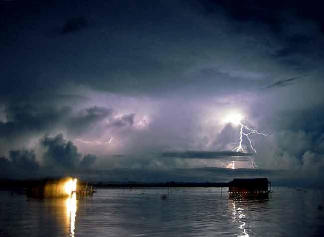 10 lugares con inusuales fenómenos meteorológicos