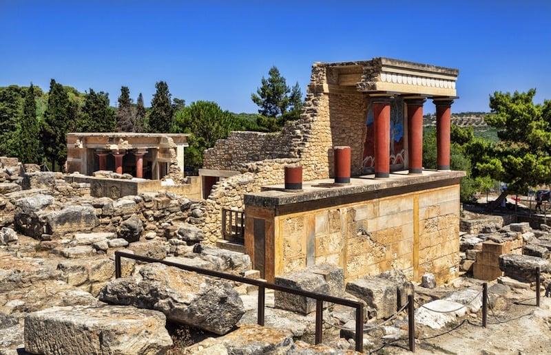 Ruinas de Cnosos / foto Shutterstock