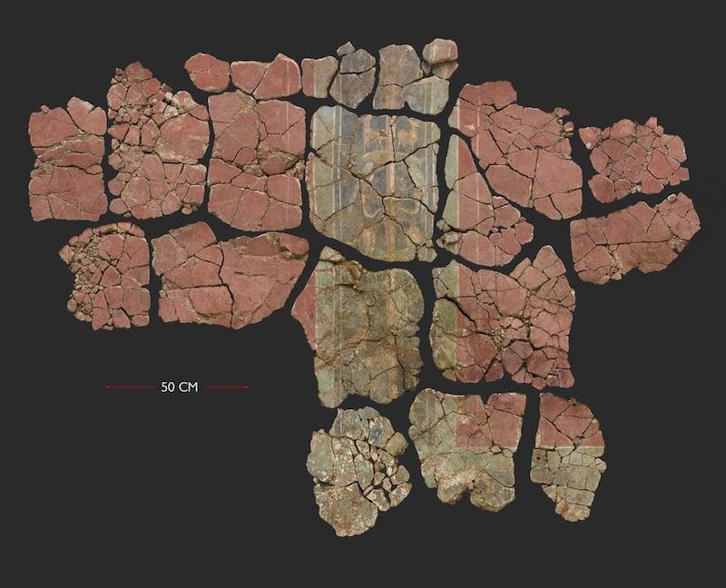El fresco romano más antiguo de Gran Bretaña, encontrado en el subsuelo de Londres