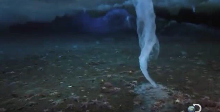 Brinicle: El brazo de hielo de la muerte en la Antártida