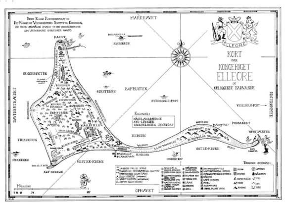 Mapa del Reino de Elleore
