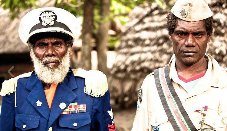 Insolito culto John Frum encarnacion solados EEUU Vanuatu