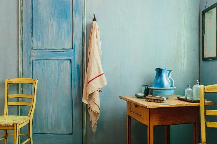 Recrean Dormitorio Arles Van Gogh alojamiento 3