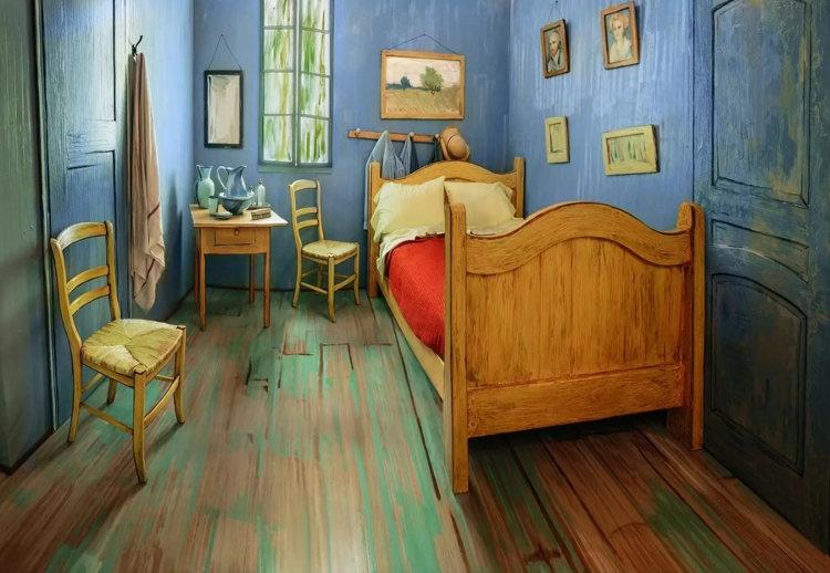 Recrean Dormitorio Arles Van Gogh alojamiento