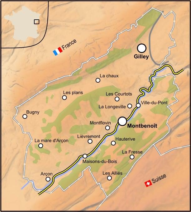 Situación de la República de Saugeais