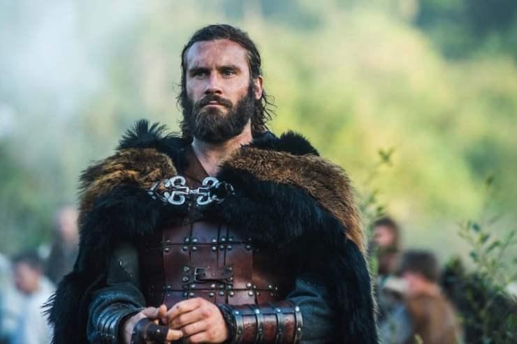 El personaje de Rollo en la serie de televisión Vikingos