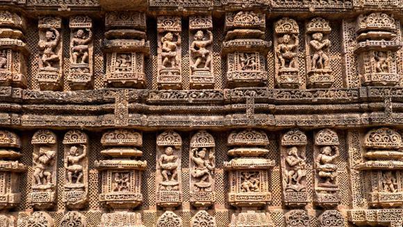 Espectacular templo forma carro dios hindu Suria