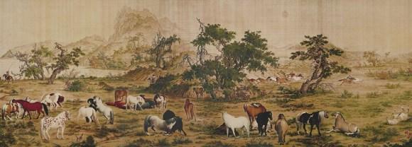 Giuseppe Castiglione jesuita pintor corte imperial china 3