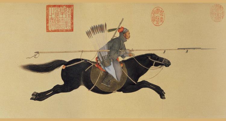 Giuseppe Castiglione jesuita pintor corte imperial china 4