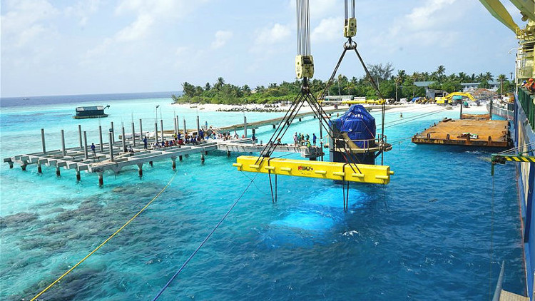 Mayor restaurante subnarino mundo Maldivas 2