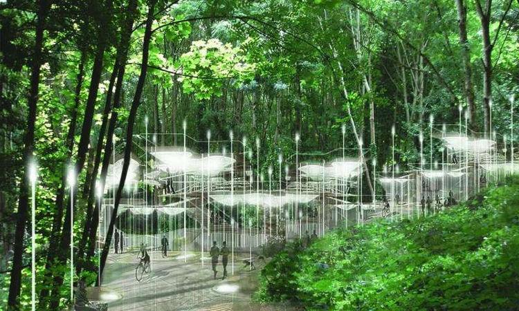 Propuesta cementerio ecologico Bristol