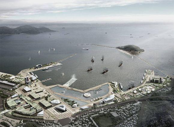 Arquitectos españoles diseñan pabellon sumerge emerge mar 3
