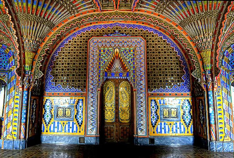 Belleza orientalizante castillo Sammezzano italiano 1