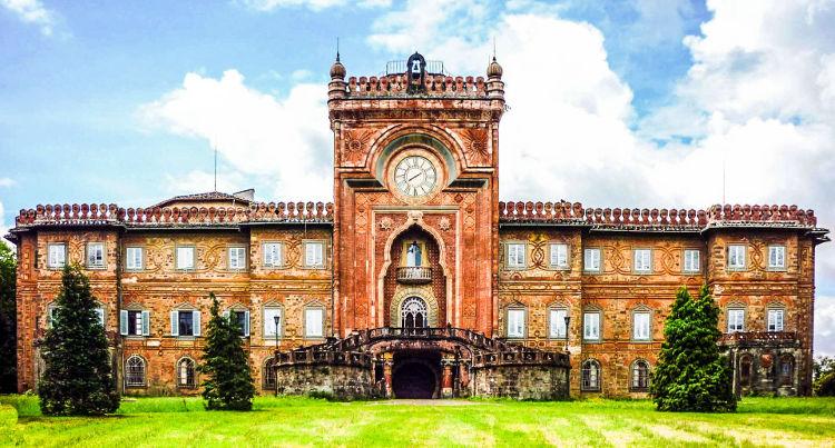 Belleza orientalizante castillo Sammezzano