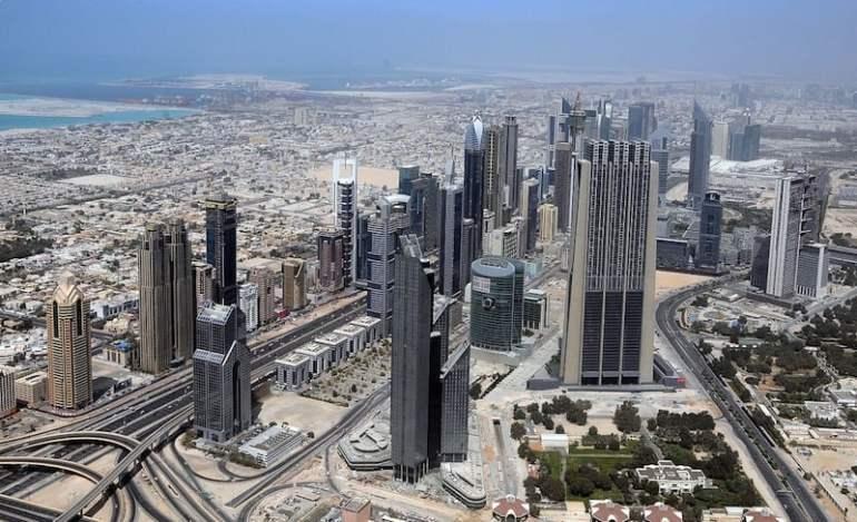 Vista desde el mirador del Burj Khalifa