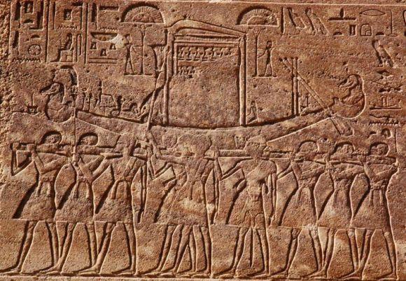 Encuentran estacion barca sagrada Jnum tiempos Hatshepsut 1