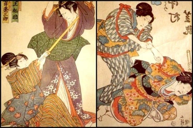 Mas famosas mujeres samurái Japon