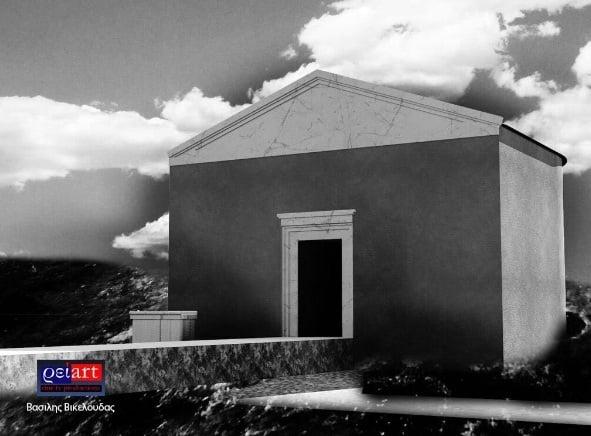 La tumba de Aristóteles en Estagira, su ciudad natal