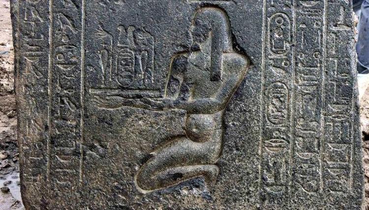 Descubierto en Heliópolis un templo egipcio de la XXX dinastía