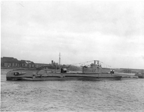 Encuentran pecio submarino britanico desaparecido II Guerra Mundial 1