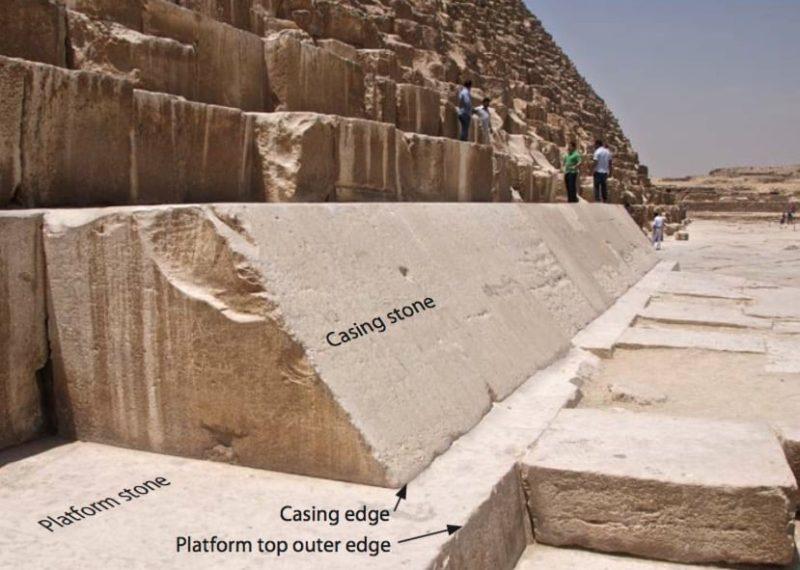 Un error de medición hace que la base de la Gran Pirámide de Guiza no sea un cuadrado perfecto