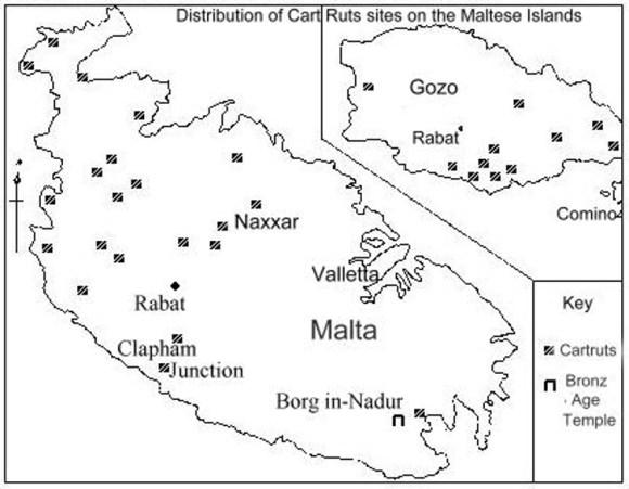 Enigmaticos surcos suelo rocoso Malta 1