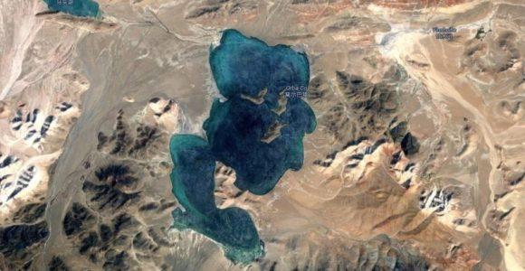 El lago Orba Co