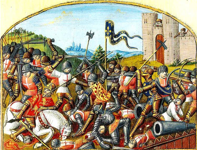 Castillon primera vez artilleria decidio una batalla