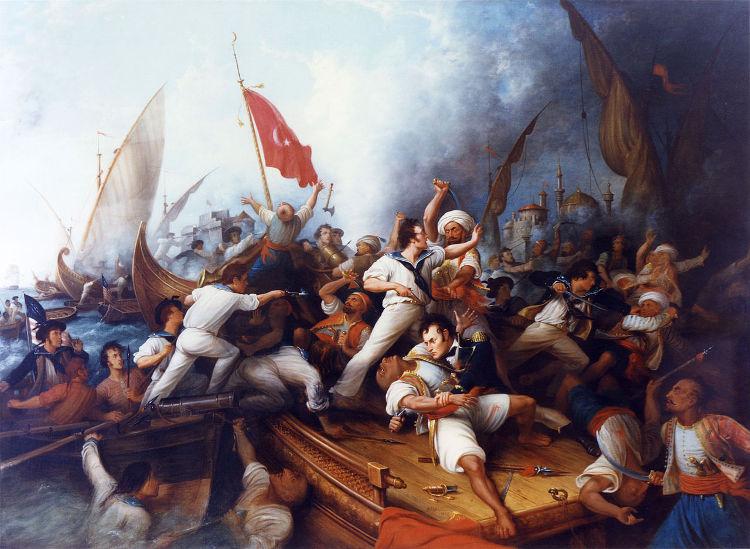 Stephen Decatur, el heroico marino estadounidense que asaltó Trípoli y murió en un duelo con un amigo