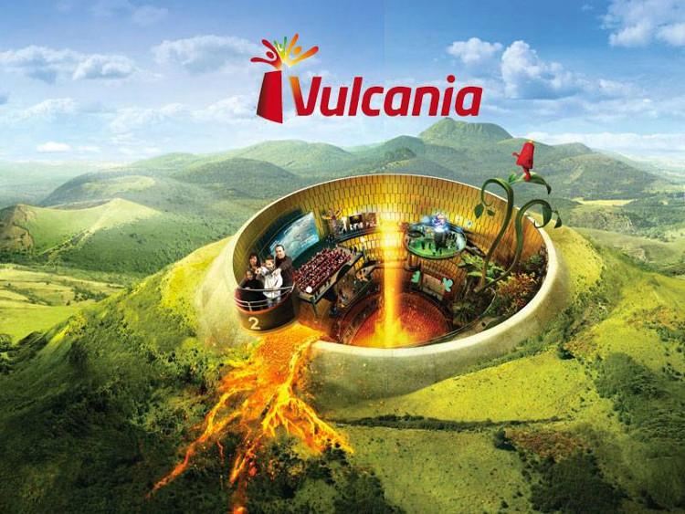 Vulcania, el parque temático construído en un antiguo flujo de lava