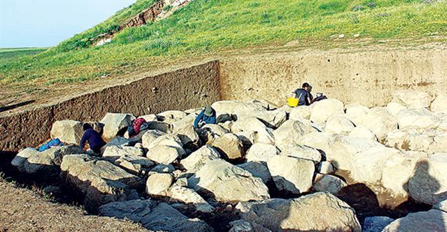 Las nuevas estructuras halladas en Zippalanda