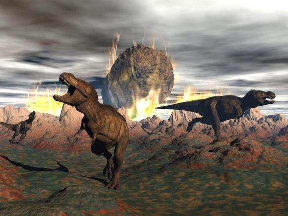 Extinción de los dinosaurios / foto Shutterstock