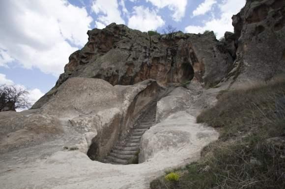 Una de las numerosas escalinatas / foto Shutterstock