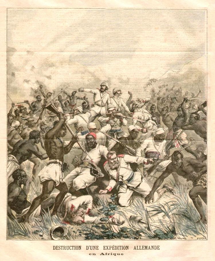Batalla de Lugalo el desastre colonial aleman