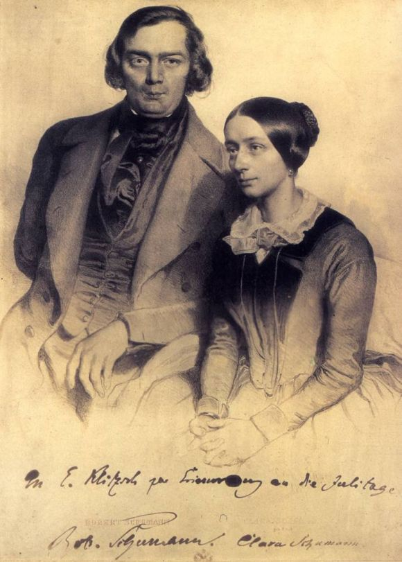 El matrimonio Schumann