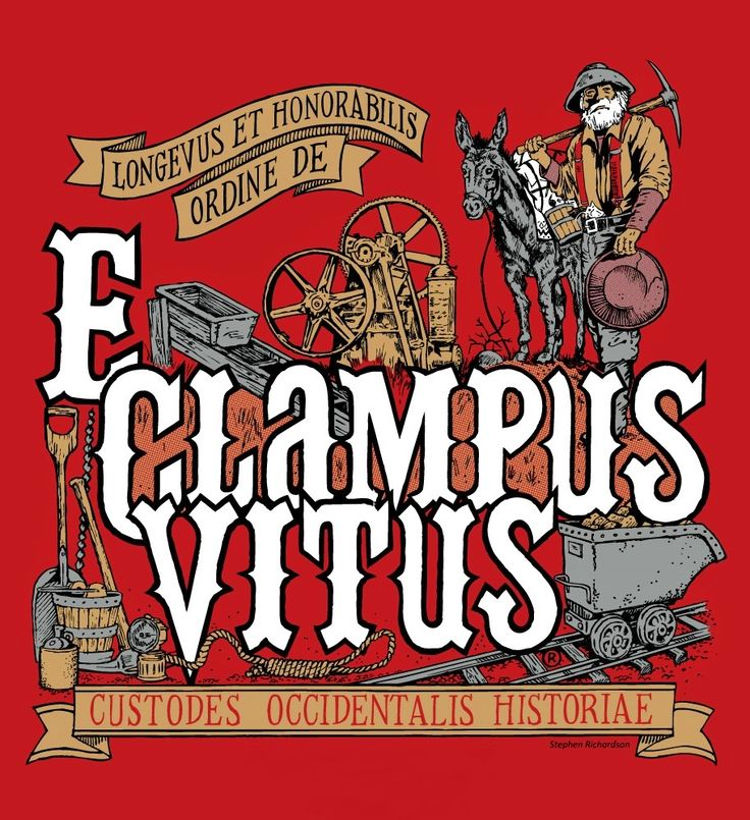 E Clampus Vitus hermandad estrambotica Estados Unidos