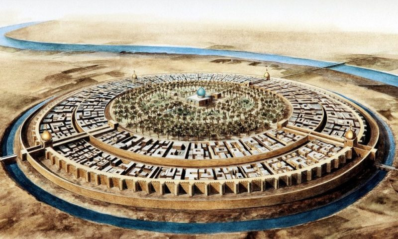 La ciudad circular de Bagdad, un proyecto urbanístico revolucionario en el año 762