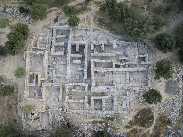 Nuevos hallazgos en el palacio minoico de Zomintos, descubierto en 1982